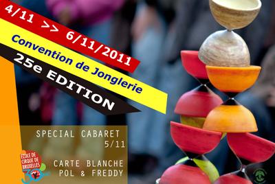 25ème convention jonglerie de Bruxelles